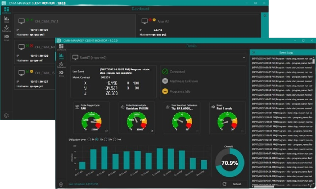 CMM-Manager Client Monitor App